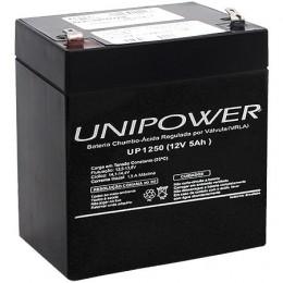 Bateria Unipower 12V 5,0AH Bateria para Nobreak