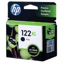 Cartucho HP 122xl Preto Ch563hb 8,8ml