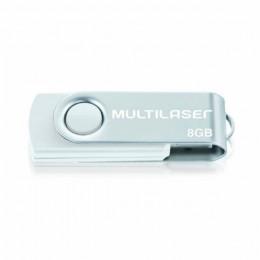 Pen Drive 8gb Multilaser PD887 Branco