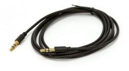 Cabo Audio P2 para P2 1,8m Niquel