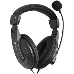 Fone Headset Vinik FM35 Go Play Preto C/ Mic