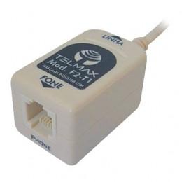 Filtro Adsl Telmax F2-T1 Simples 1 Saida Bege