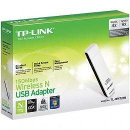 Adaptador Wireless USB Tp-link Tl-wn721n 150mbps