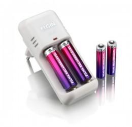 Carregador Baterias C/4 Pilhas Elgin Sc224