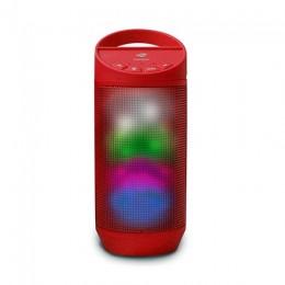 Caixa de Som C3tech SPB50RD Vermelha Bluetoot 8WTS Rms