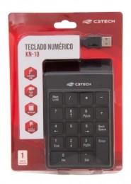 Teclado Numerico USB C3tech Kn-10bk