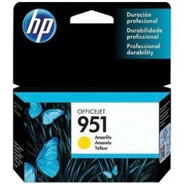 Cartucho de Tinta HP 951 Amarelo CN052AL