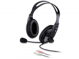 Fone Headset com Microfone Genius HS-500X Preto