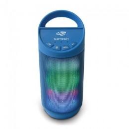 Caixa de Som C3tech Spb50bl Azul Bluetoot 8wts Rms