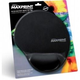 Pad Mouse Gel Maxprint Preto