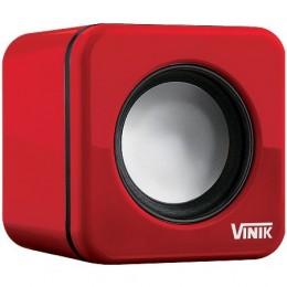 Caixa de Som Vinik Vs-101 6w RMS Vermelha