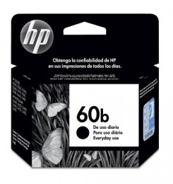 Cartucho HP 60B Preto 4ml CC636WB Everyday