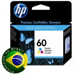Cartucho HP 60 Colorido CC643WB