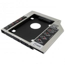 Adaptador Caddy 9.5mm para Instalar Segundo HD em Notebook