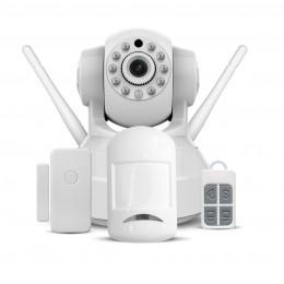 Camera Ip Cftv Vstarcam C37-AR com Kit de Sistema de Alarme e Vigilancia TZ1V