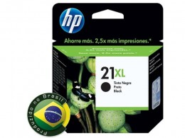 Cartucho HP 21xl Preto C9351cb 16ml