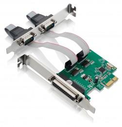 Placa PCI-E com 2 Seriais 1 Paralela Multilaser GA128
