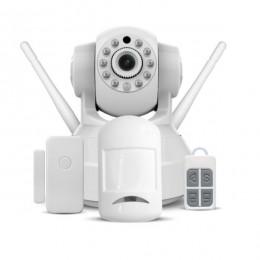 Kit Sistema de Alarme e Vigilancia Vsc C37-ar Tz1v