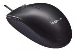 Mouse USB Logitech M90 3 Botoes Preto