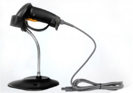 Leitor Cod. Barras Ocbs-la11 Laser C/ Suporte USB
