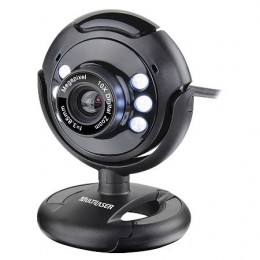 Webcam Multilaser Wc045 Night Vision Interpolada
