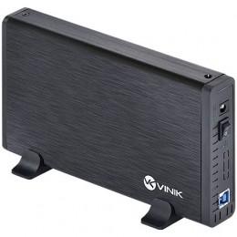 Case para HD Vinik 3.5 AlumInio com Chave I/O Usb 3.0