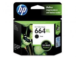Cartucho HP 664XL F6V31AB HP 664XL Preto 8,5 Ml
