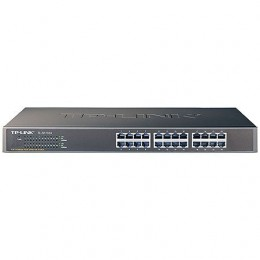 Switch Tp-link TL-SF1024 MontAvel Em Rack - 24 Portas - 10/100mbps