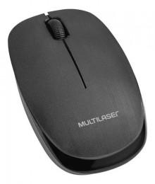 Mouse sem Fio Multilaser Mo212 Preto 1200dpi