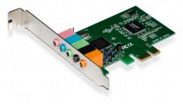 Placa Som PCI-E Multilaser 5.1CH GA140