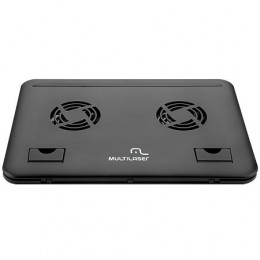 Base para Notebook Multilaser AC103 para Notebook de Ate 15 Pol com Cooler Duplo