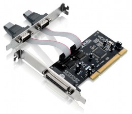 Placa PCI 2 Seriais 1 Paralela Multilaser Ga129