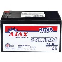 Bateria para Nobreak 12v 7,2ah Ajax