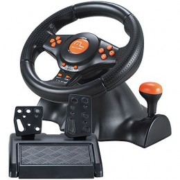Joystick Volante e Pedal Multilaser Js073