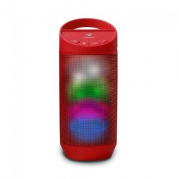 Caixa de Som C3tech Spb50rd Vermelha Bluetooth 8wts Rms