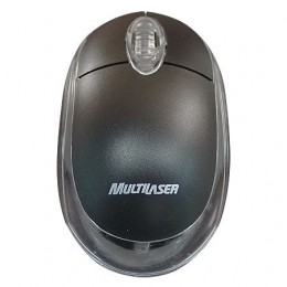 Mouse Usb Multilaser MO130 Optico Usb Preto