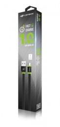 Cabo USB P/ Micro USB C3tech Cb-100bk 1.0m Pto/ved