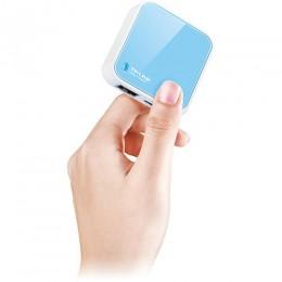 Mini Roteador Wireless Tp-link WR702N 150mbps com Funcao Cliente e Repetidor