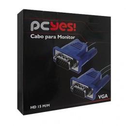 Cabo Monitor VGA 20m Pcyes Vc-200