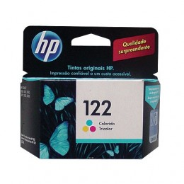 Cartucho HP 122 Tricolor 1,5ml CH562HB