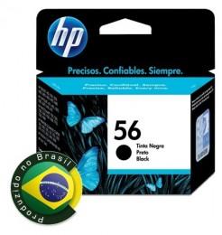 Cartucho HP 56 Preto C6656ab 19,5ml