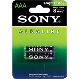 Pilha Alcalina AAA Sony Am4l-b2d C/2