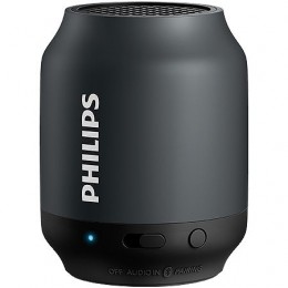 Caixa de Som Philips BT50BX Bluetooth Wireless PortAtil Preta
