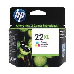 Cartucho HP 22XL Jato de Tinta Tricolor 17ml C9352CB Alto Rendimento