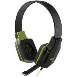 Fone Headset Multilaser PH146 Gamer Verde Controle de Volume