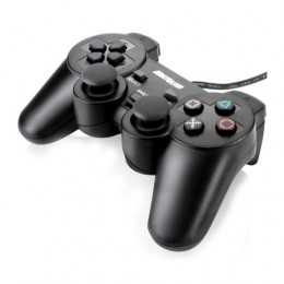 Joystick Multilaser JS030 Dual Shock Usb para Pc