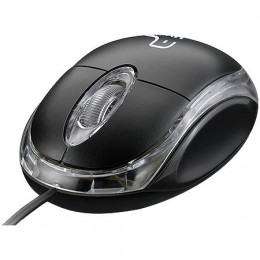 Mouse Usb Multilaser MO179 Preto Classic Box Optico