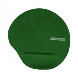 Mouse Pad Maxprint Verde com Apoio Em Gel