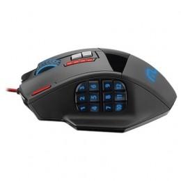 Mouse USB Multilaser Mo206 Gamer 4000dpi 18 Botoes