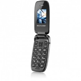Telefone Celular Multilaser P9022 Up Flip Preto